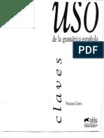 Francisca Castro - Uso de La Gramatica Espanola - Avanzado [Clave]