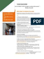 ERQ Student Success Newsletter