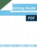 Zebex Z3100USB - Programming Guide (Barcode Scanner)