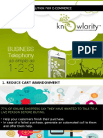 Knowlarity E-Commerce Solution Pack