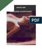 Corazon Cuarteado - Anais Nin -