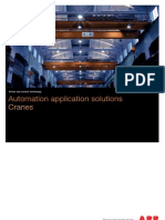 ABB Automation Application Solutions for Cranes