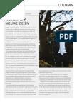 Column | Wennen aan nieuwe ideeën