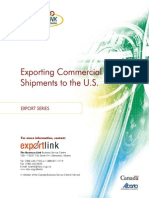 Exporting Commercial Shipments to Us