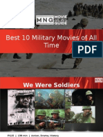 Best 10 Military Movies of All Time