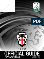 Pro Vercelli Official Guide