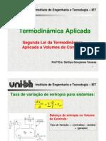 Termodinamica - segunda Lei