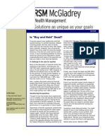 Wealth Management Fall 2009