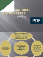 GOLONGAN OBAT ANTIDIABETES