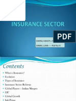 Indian Insurance Industry