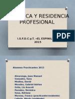 Practica y Residencia Profesional