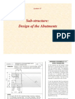 Abutment (seismic specifications)