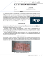 Study on the RCC and Brick Composite Slabs