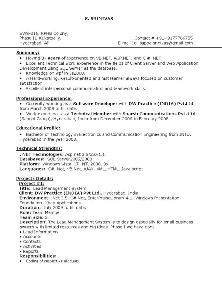 s  Srinivas Ews-216, Kphb Colony, Phase II,   Application