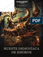 Codex Hueste Demoníaca de Khorne