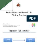 Retinoblastoma genetics