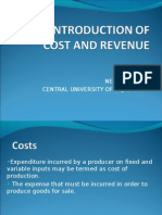 Neha Cost Revenue Ppt Friday