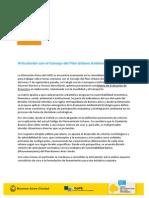 Artículo s la reunión de la Dimensión Física con CoPUA