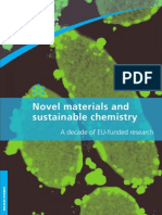 Novel materials and sustainable chemistry
