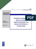 Guatemala y Bolivia