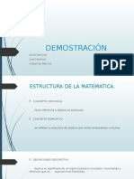 demostraciones - lógica matematica