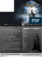Batman Arkham Asylum PS3 Game Manual