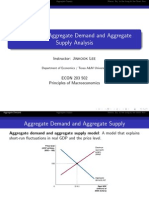 Aggregate Demand Aggregate Supply