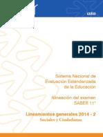 Lineamientos Generales Sociales SABER 11 2014 -2.pdf