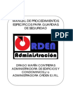 Manual de Procedimientos Guardias Completo