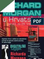 Plakat - Richard Morgan u Hrvatskoj