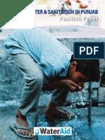 State of Water & Sanitation In Punjab