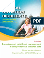 Importance of Nutritional Management in Comprehensive Diabetes Care