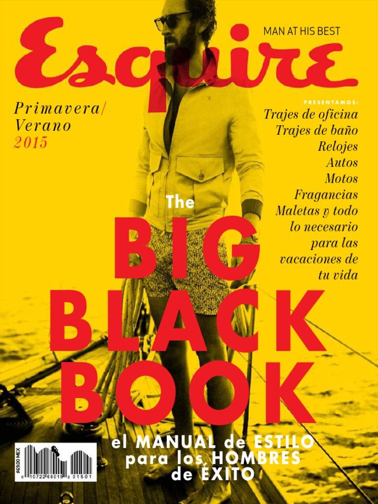 timeless design 00150 c2f75 Esquire The Big Black Book - PrimaveraVerano 2015.pdf