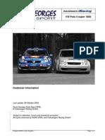 VW Polo Rally Car
