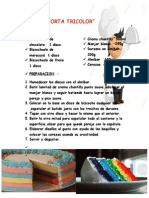 PROYECTO Torta Tricolor