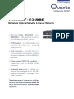 Xdm Bg20 Sdh-system En