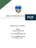 M Tech VLSI KTU Syllabus