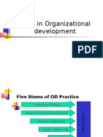 Steps in Organizational Development