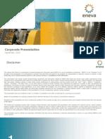 ENEVA Corporate Presentation ? September 2015