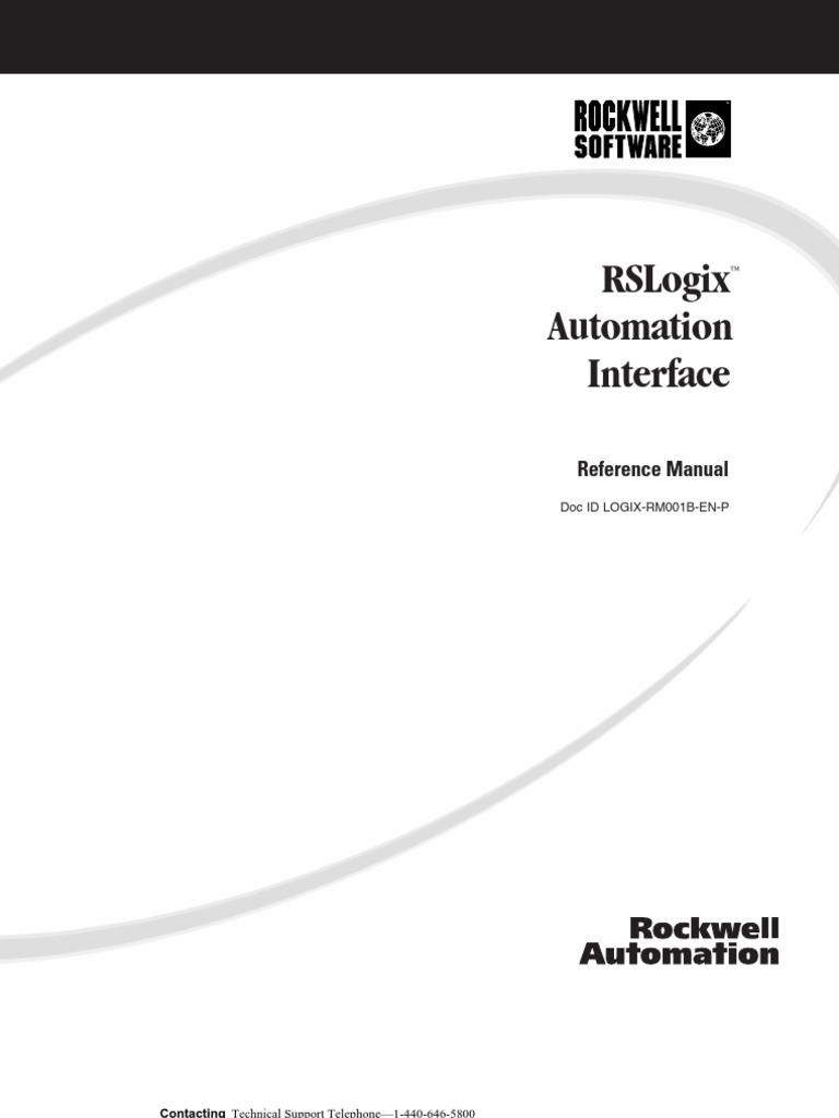 rslogix automation interface