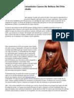 Consejos Para El Tratamiento Casero De Belleza Del Pelo Débil, D. O Maltratado