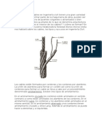 Los Cables en Ingeniería Civil