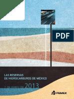 Libro Reservas 2013
