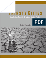 Thirsty Cities Analyzing Punjab Drinking Water Policy