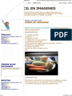 Cocina Facil en Imagenes_ Crema de Verduras