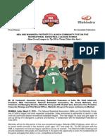 NBA and Mahindra[1]