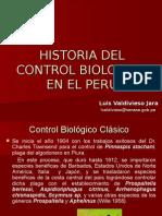 Historia Del Control Biologico en El Peru