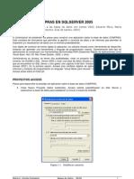 Pasos para la construcci¾n APLICACIËN COMPRAS EN SQLSERVER 2005