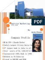 Service Marketing Mix ICICI bank ajesh,dimple (sngist '09)