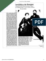 PIGLIA, R. a Heraldica de Borges p.1